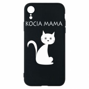 iPhone XR Case Cats mother