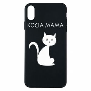 iPhone Xs Max Case Cats mother