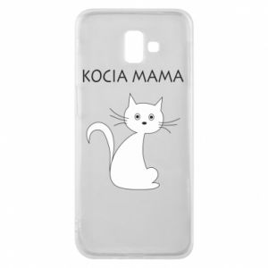 Samsung J6 Plus 2018 Case Cats mother