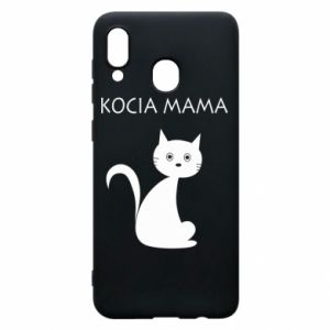 Samsung A30 Case Cats mother