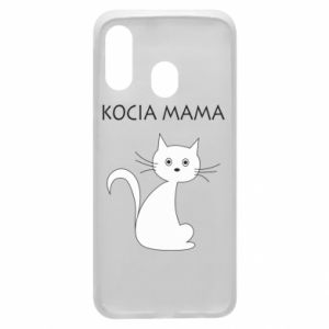 Samsung A40 Case Cats mother