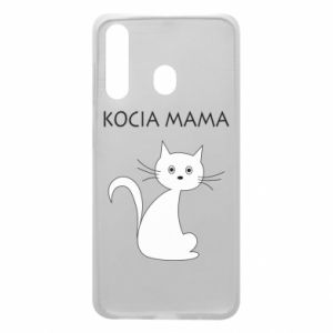 Samsung A60 Case Cats mother