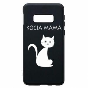 Samsung S10e Case Cats mother