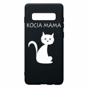 Samsung S10+ Case Cats mother