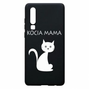 Huawei P30 Case Cats mother