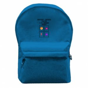Backpack with front pocket Collector