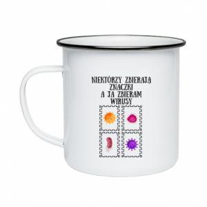 Enameled mug Collector