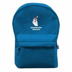 Plecak z przednią kieszenią Kolor mojego nastroju