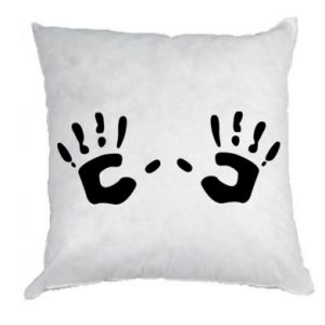 Poduszka Kolorowe dłonie