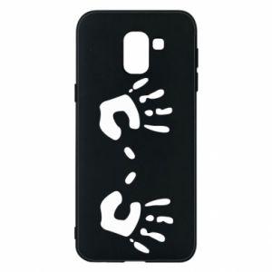 Etui na Samsung J6 Kolorowe dłonie