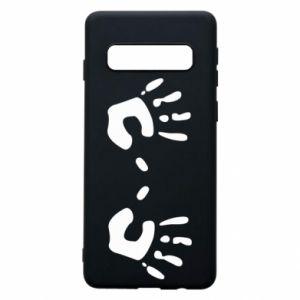 Etui na Samsung S10 Kolorowe dłonie