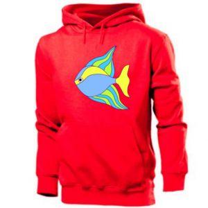 Men's hoodie Colorful fish