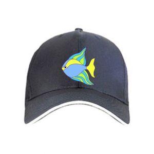 Cap Colorful fish