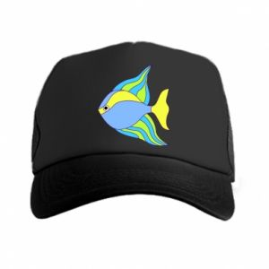 Trucker hat Colorful fish
