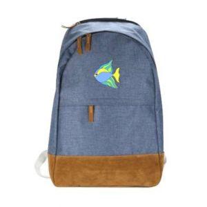Miejski plecak Kolorowe ryby