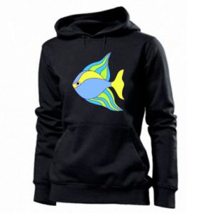 Women's hoodies Colorful fish