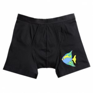 Boxer trunks Colorful fish