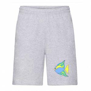Męskie szorty Kolorowe ryby