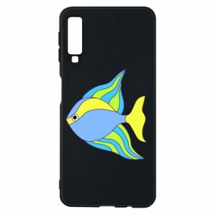 Samsung A7 2018 Case Colorful fish