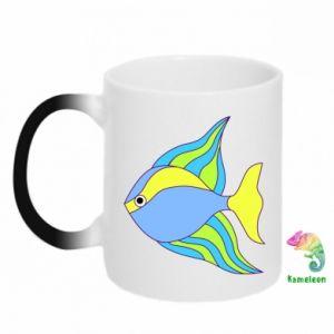 Kubek-kameleon Kolorowe ryby