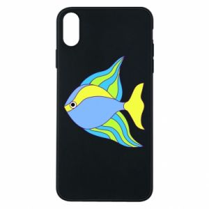 iPhone Xs Max Case Colorful fish