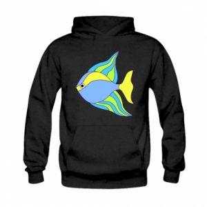 Kid's hoodie Colorful fish