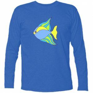 Long Sleeve T-shirt Colorful fish