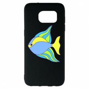 Samsung S7 EDGE Case Colorful fish