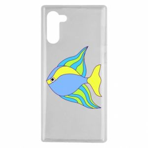 Samsung Note 10 Case Colorful fish
