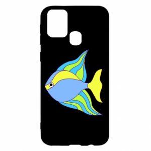 Samsung M31 Case Colorful fish
