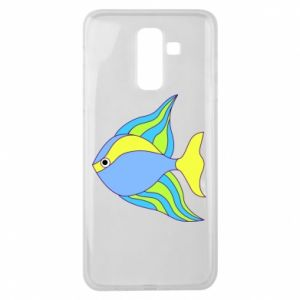 Samsung J8 2018 Case Colorful fish