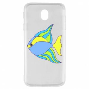Samsung J7 2017 Case Colorful fish