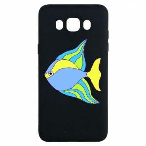 Samsung J7 2016 Case Colorful fish
