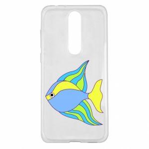 Nokia 5.1 Plus Case Colorful fish