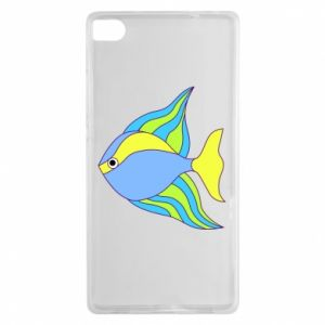 Huawei P8 Case Colorful fish