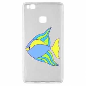 Huawei P9 Lite Case Colorful fish