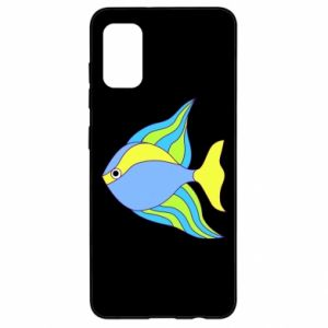 Samsung A41 Case Colorful fish