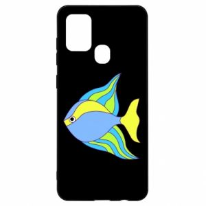 Samsung A21s Case Colorful fish