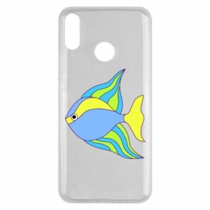 Huawei Y9 2019 Case Colorful fish