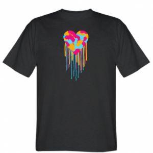 Koszulka Kolorowe serce