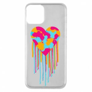 iPhone 11 Case Colored heart
