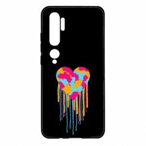 Etui na Xiaomi Mi Note 10 Kolorowe serce