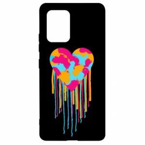 Etui na Samsung S10 Lite Kolorowe serce