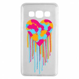 Etui na Samsung A3 2015 Kolorowe serce