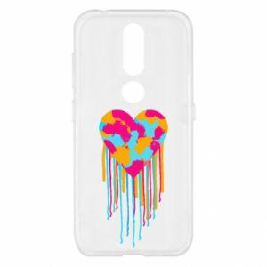 Etui na Nokia 4.2 Kolorowe serce