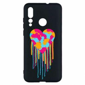 Etui na Huawei Nova 4 Kolorowe serce