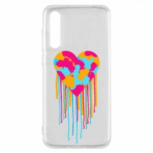 Etui na Huawei P20 Pro Kolorowe serce