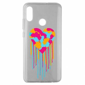 Etui na Huawei Honor 10 Lite Kolorowe serce