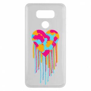 Etui na LG G6 Kolorowe serce