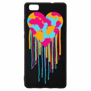 Etui na Huawei P 8 Lite Kolorowe serce